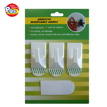 Adhesive hook for kitchen