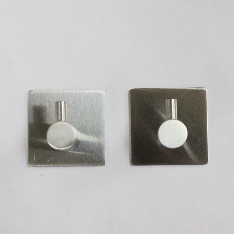 stainless steel adhesive hook