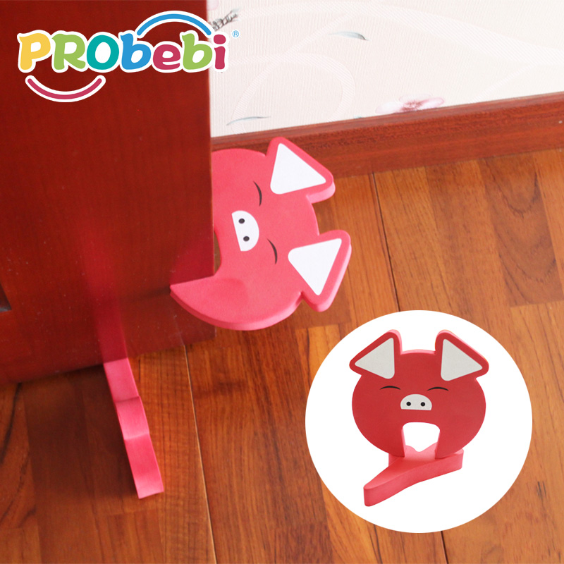 Baby care dual purpose door guard