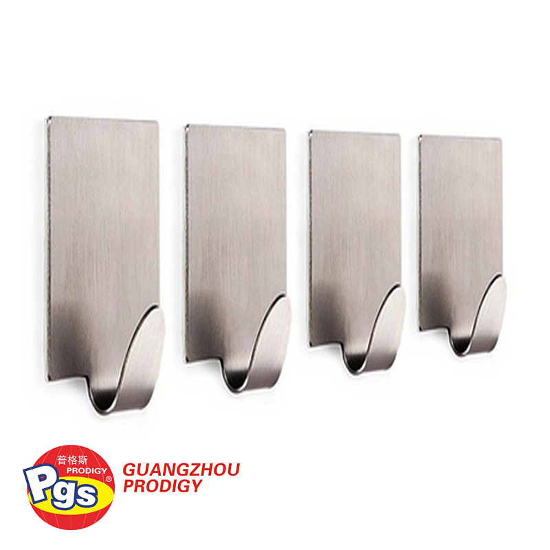 self adhesive stainless steel hooks