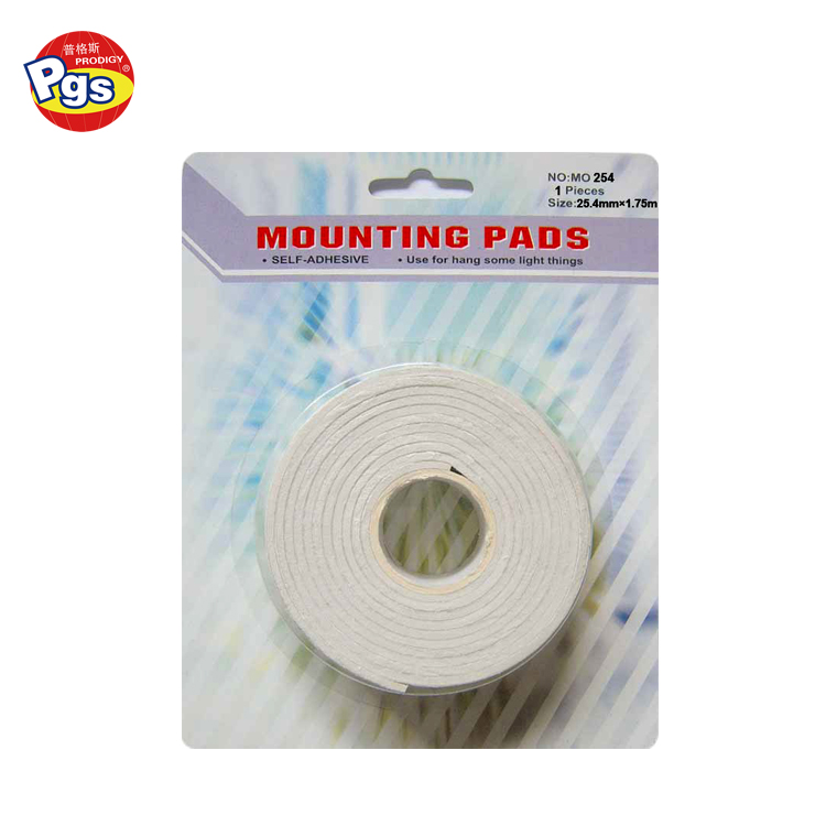 office tool white color self adhesive tape wholesale
