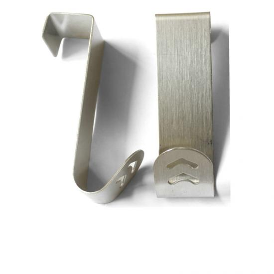 Over the door stainless steel hook