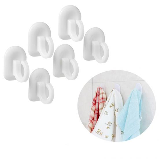white bathroom towel hooks