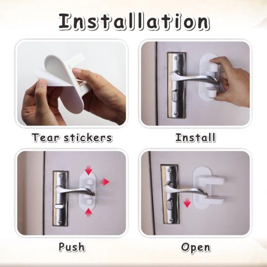 baby safety locks for door handles door handle protector