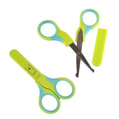 Hot selling Round headed Eco-Friendly Baby Safety Scissor