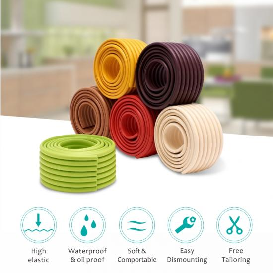 soft roll shape baby proof table corner guard