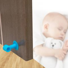 ventosa soft abs durable puerta pomo protector de pared