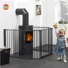 fpldable and portable metal safety barrier baby playpen