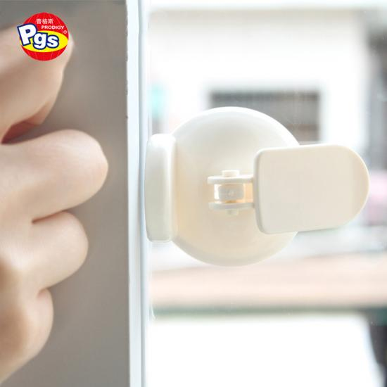Easy Design Factory Sales PP and PVC material Sliding Door Or Window Lock For kids