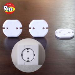 3 pin baby care plastic Plug Protector