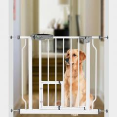 manufacturer price no drilling expandable baby gate with door