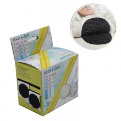 Round Shape Dia 2.5cm Home Use Hook and Loop Tape